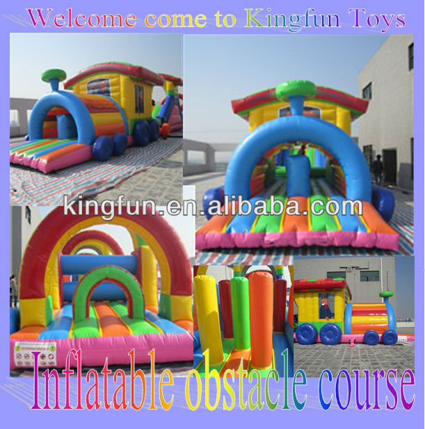 2013 Merry Christmas inflatable festival slide for Santa Claus