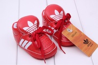 Пинетки E-Best] Retail! Baby boys/girls sneaker Baby first walkers Pure color shoes Soft-soled shoes 5 colors S020