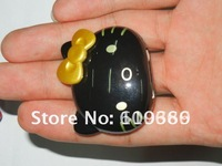 Sell 200pcs/lot  Newest Mini MP3 Playe Hello Kitty MP3 Player 2GB support mp3 format easy control For girls DHL Free Shipping