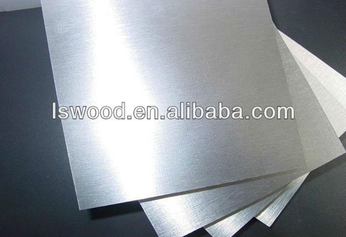 Foil Faced Plywood ~ Aluminum faced mdf aluminium foil covered