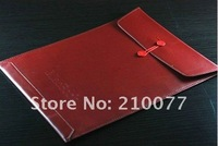 "Free Shipping Leather Envelope Case Bag Pouch For 13.3"" Macbook AIR/PRO"
