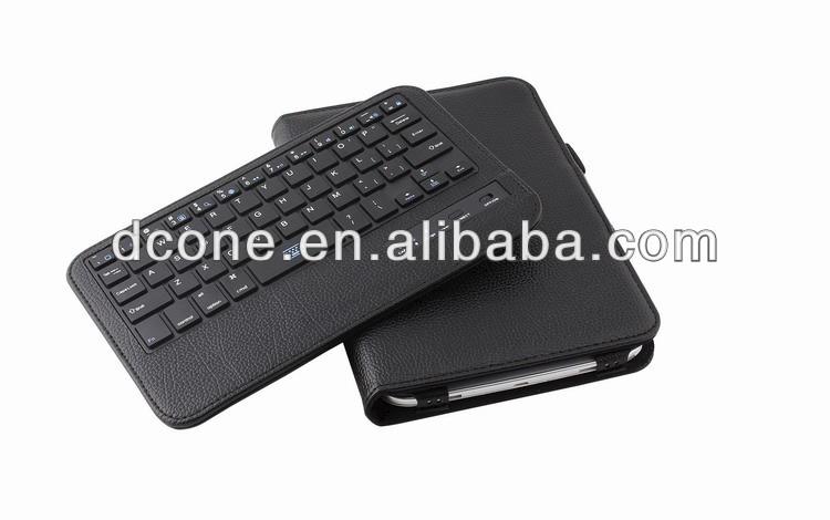 Detachable Wireless Bluetooth 3.0 Qwerty Keyboard Folding Foldable PU Leather Folio Case for Samsung Galaxy Note 8.0 N5100 N5110