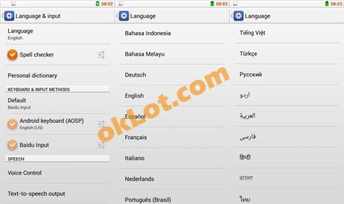 zp820 language