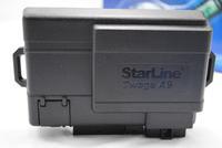 два пути автомобиль будильник системы/starline a9/Российская версия/ЖК удаленного Авто сигнализация/двигатель стартера