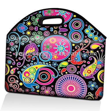 Factory Neoprene laptop case , neoprene computer bag(factory)