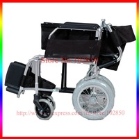 CE approved lightweight  folding aluminum alloy travelling wheel chair JS81 ( folded size -20cm )
