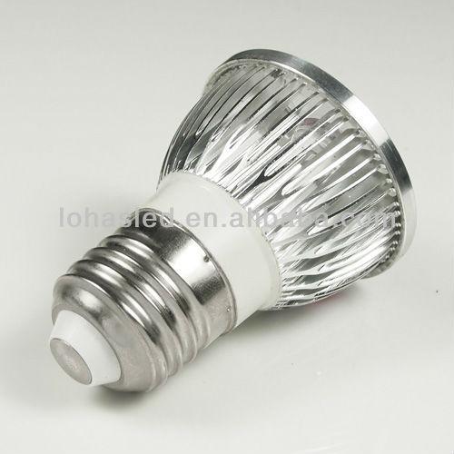 Zhong shan Factory Direct High Power 4W 30 Deg E27 110-240V AC Led Spot Lamp light