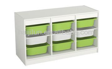 Haijilun moderne enfants mobilier scolaire enfants armoire - Boite rangement maquillage ikea ...