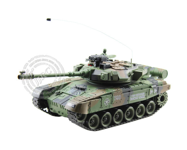4ch radio control rc military shooting tank model toys