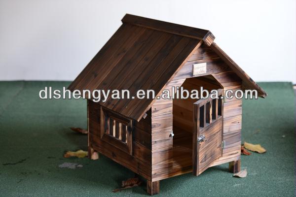 Indoor & Outdoor Wooden Cat House/Dog Kennel/Wooden Pet House