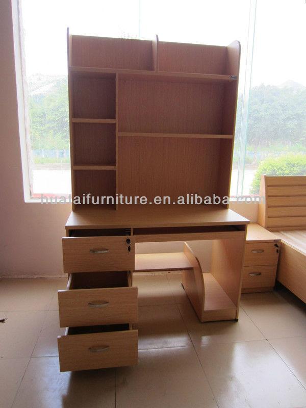 Pas cher en bois biblioth que bureau d 39 ordinateur meubles for Bureau d ordinateur pas cher