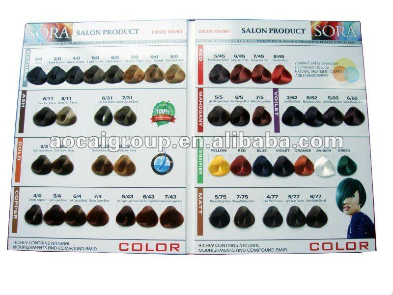 cheveux couleur palette - Palette Coloration Cheveux