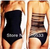 новый бренд мода купальники сексуальный один кусок черного купальник для женщин пляж носить дизайнерские купальники свободный корабль
