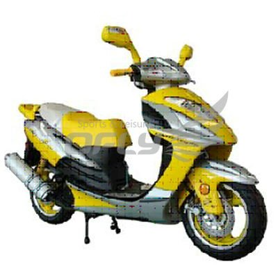 EEC Approved Gas Motor Scooter MS1272EEC