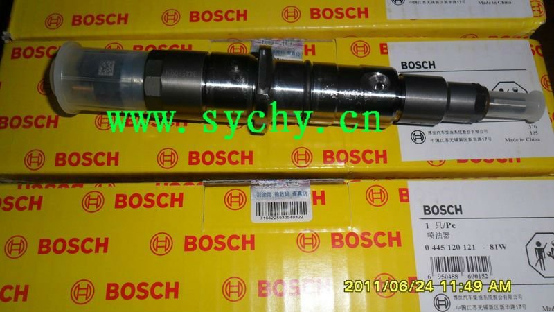BOSCH original common rail injector 0 445 120 121