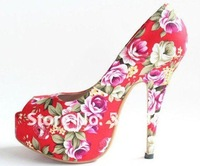 Free shipping,2012 new drop shipping Fabric Spring&Autumn ladies sexy high heels shoes,sandals for women,women shoes