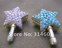 Пылезащитная заглушка для мобильных телефонов Pentagram Heartshape Jewelry Dust Plug for iphone