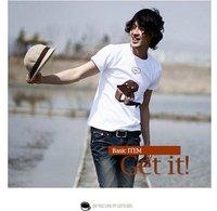 Мужская футболка 2012 NYPD Men's Fashion Korean 100% Cotton T shirt, Stylish clothing, Man's Tee shirt, your logo service
