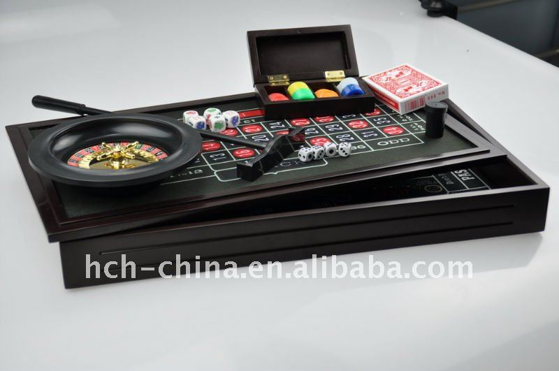 4-in-1 casino game set
