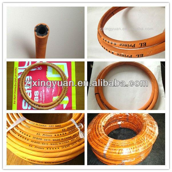 enpaker flexible rubber gas cooker connection hose