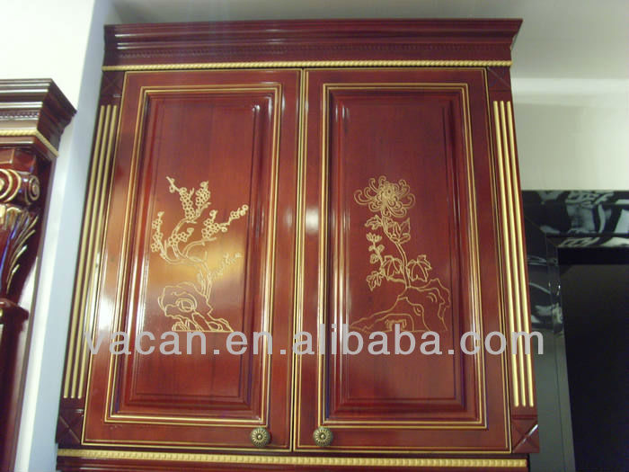 US$8000 promote solid wood kitchen cabinet from Guangzou kitchen ...