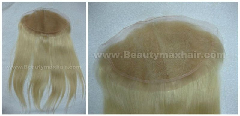 100% remy human hair Closure/Female Toupee