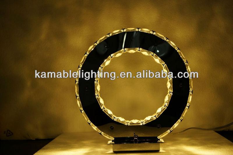 Cristal projeto Fashional LED candeeiro de mesa moderno