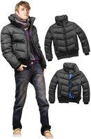 Men's ex-heavy down jacket feather black outware coat clothes black parka wholesale MD1522
