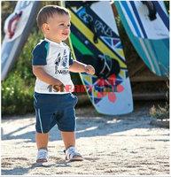 Комплект одежды для мальчиков 1st Baby Mall] baby boys summer clothing sets 2pcs cotton tracksuits boys handsome suits M-SSW-023