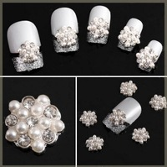 Стразы для ногтей 10pcs/lot 3D Faux DIY NA064