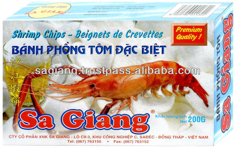 Sa Giang Prawn Crackers - Vietnam Pictorial