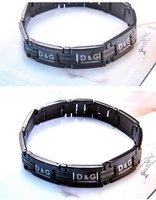 Браслет из нержавеющей стали Awesome Men's Jewelry Black Stainless Steel Bracelet