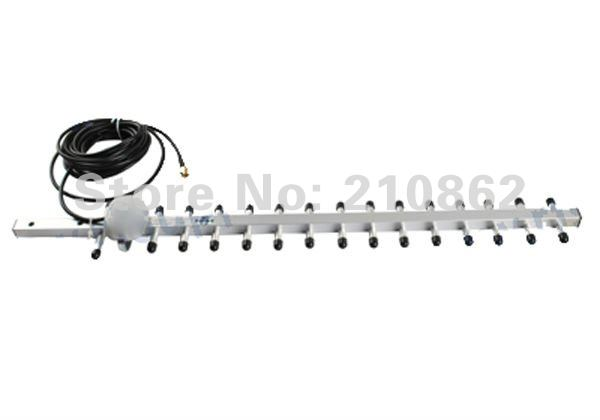 1990-2170MHz 16DB 3G 2100Mhz Yagi Antenna RP SMA male For 3G wireless