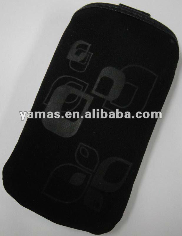 Popular velvet mobile bag