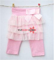 Леггинсы для девочек shippinng! 4pcs baby girls' skirt pants newfashioned leggings princess leggings girls' short pants tights varabow skirt