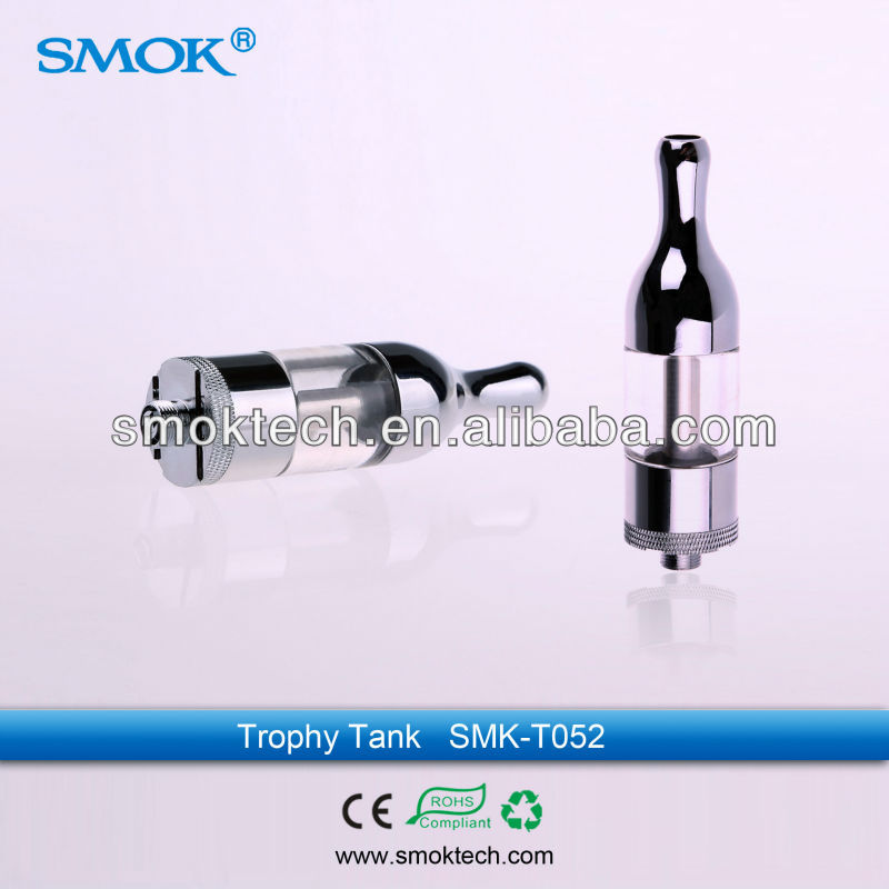 Smok protank clearomizer / trophy tank with big vapor and strong throat hit