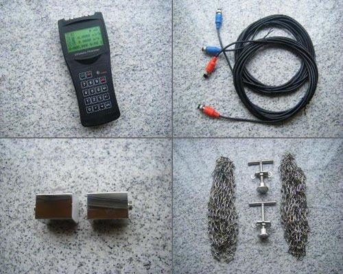 RV-100H handheld ultrasonic flow meter/dalian flow meter