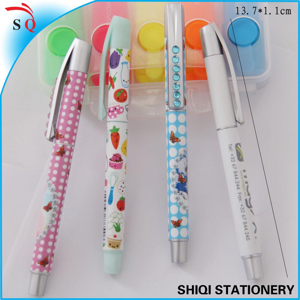 exquisite cheap promotional rhinestone pen