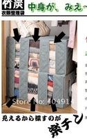 Бамбук Уголь волокна хранения сумка украшения дома складная коробка контейнер