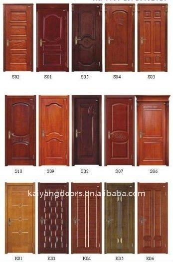 Solid Veneered Bedroom Door Simple Design Buy Solid