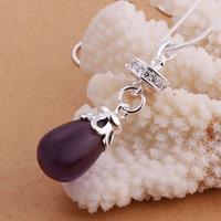 Ювелирная подвеска 925 Silver fashion jewelry Necklace pendants Chains, 925 silver necklace fashion necklace bvzx enou