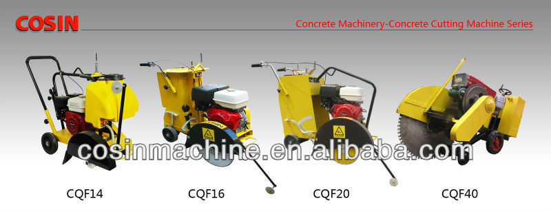 Cosin concrete road cutter CQF16