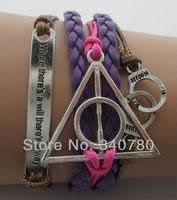 новые модные Европы и Америки, ручной браслеты сплава прелести наручников, вечный, полые, смерть Гарри порт шнуры Браслеты