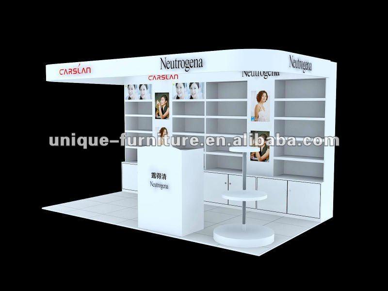 Acrylic Cosmetic Display Kiosk For Booth Buy Cosmetic