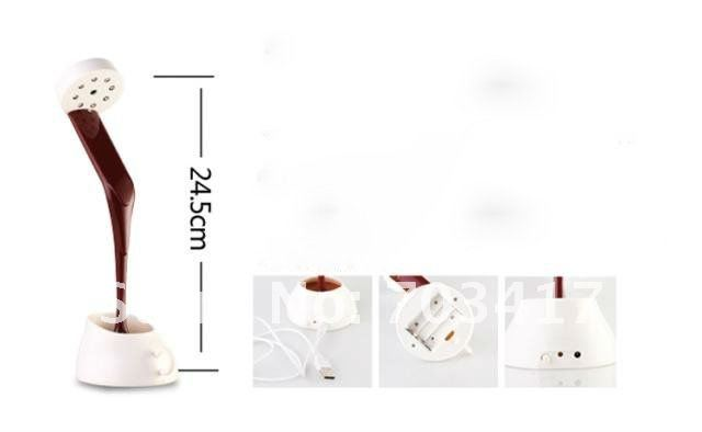 New novelty DIY LED night lamp table home decoration romantic coffee Usb or battery promotion christmas gifts