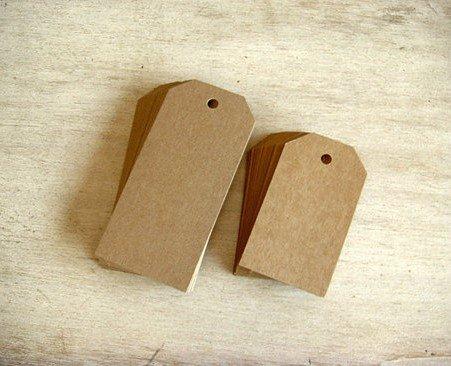Бирки своими руками картон