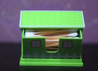 Коробка для хранения Creative fine European chalet style cotton swab box sign Carolina swab box high-end fashion tank