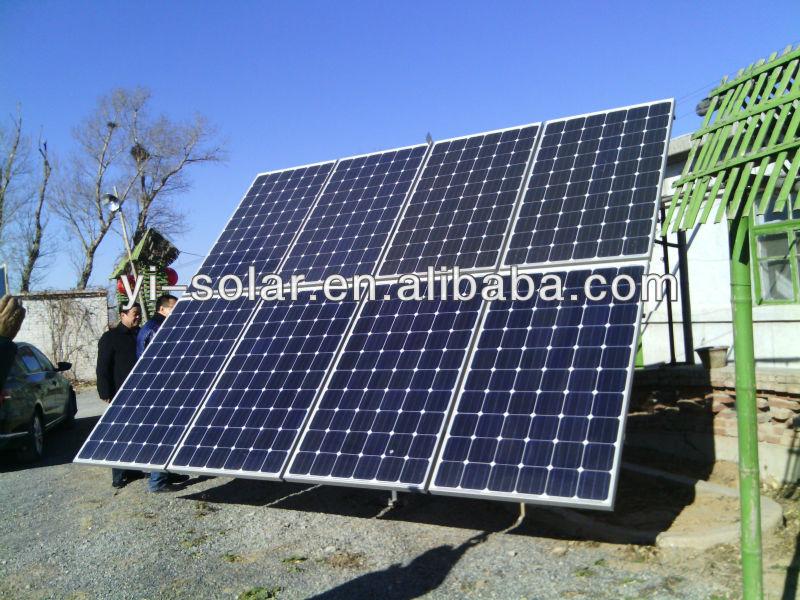 High power full certs 250W 300W polycrystalline solar panel 10 years warranty