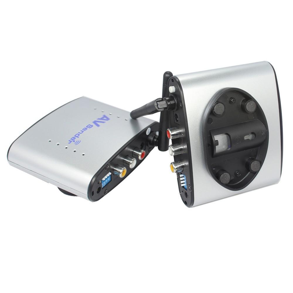 1шт 150m 2.4g беспроводной / v ТВ аудио-видео передатчик & приемника ПЭТ-220 ИК дистанционного extender
