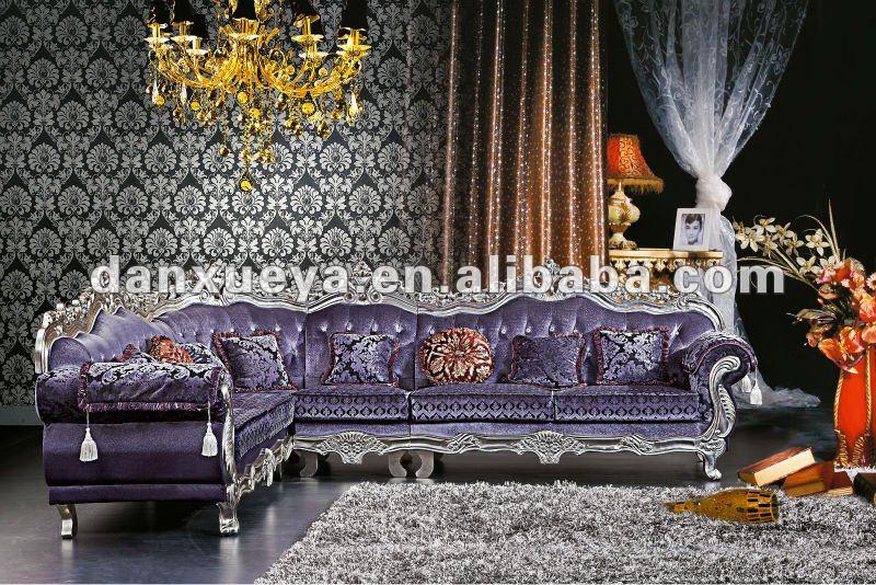Turquie mobilier classique salon canap d 39 angle dxy 3048 for Salon turque moderne